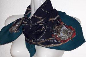 Neckerchief multicolored mixture fibre