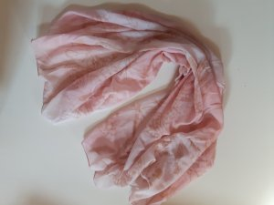 Halstuch in Rose mit Schmetterlingmuster