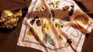 Foulard multicolore soie