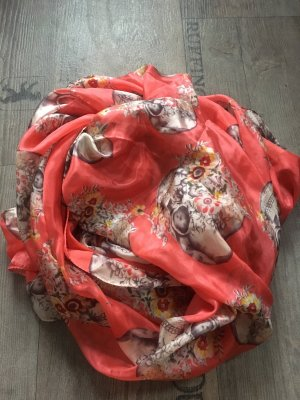 Neckerchief white-salmon