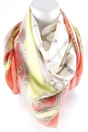 Foulard multicolore style décontracté