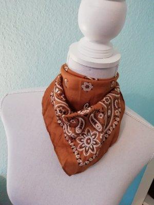 Halstuch Muster Senf haarband