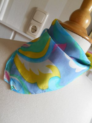 Neckerchief multicolored silk