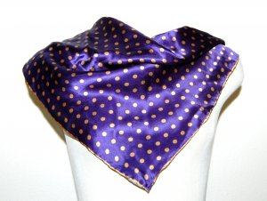 Passigatti Foulard violet foncé