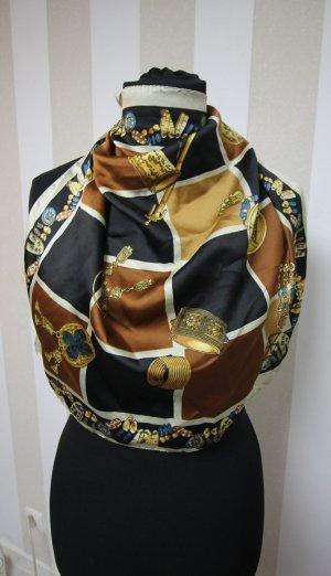 Kerchief brown-light brown