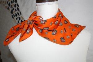 Foulard orange polyester