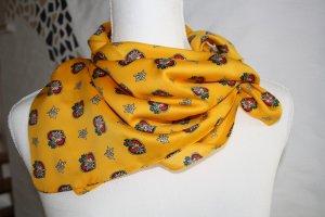 Foulard jaune foncé polyester