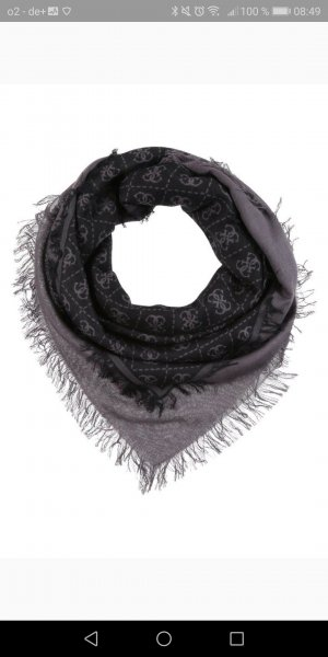 Guess Neckerchief black-dark grey