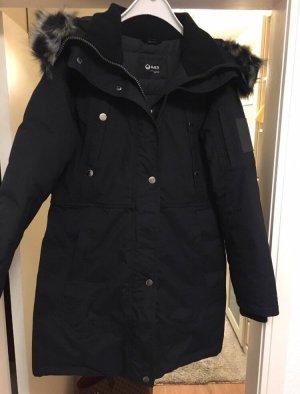 Halti Manteau en duvet noir-gris anthracite