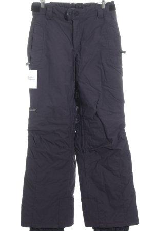 Halti Snow Pants black-dark blue athletic style