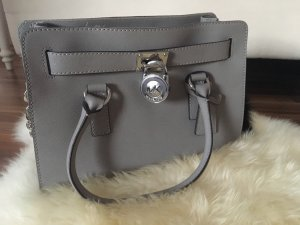 Michael Kors Sac à main gris-orange doré
