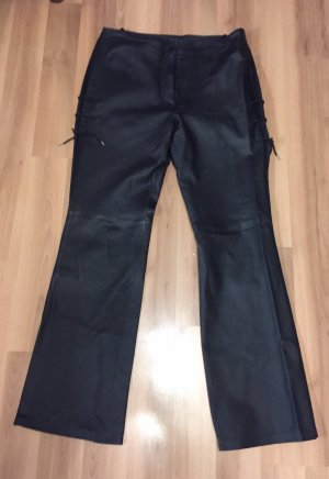 Hammer Echt- Lederhose von CP Company schwarz Gr. 42 Neu