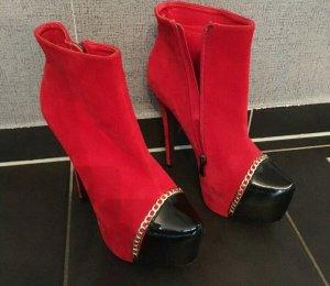 Sergio Todzi Chelsea laarzen zwart-rood