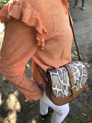 Borse in Pelle Italy Crossbody bag camel leather