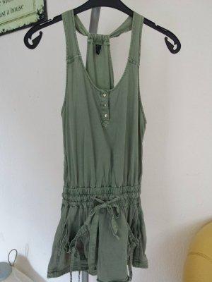 Hammer Minikleid Kleid Top Trägerkleid Khaki Shorts style gr 38 M