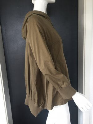 Oversized Jacket grey brown