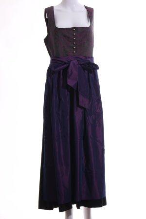 Hammerschmid Vestido Dirndl lila-rojo elegante