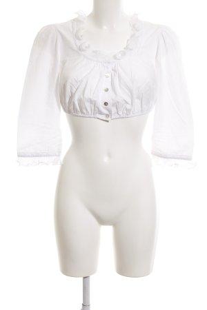 Hammerschmid Traditional Blouse white elegant