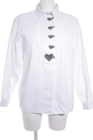 Hammerschmid Folkloristische blouse veelkleurig klassieke stijl