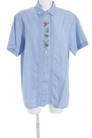 Hammerschmid Camisa folclórica estampado abstracto estilo extravagante