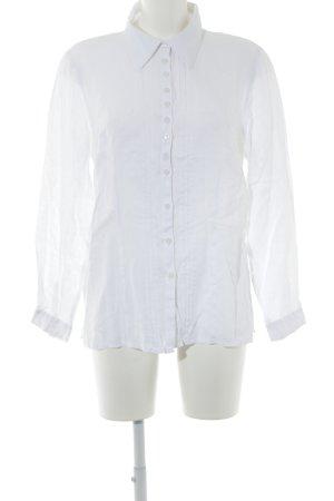 Hammerschmid Camisa folclórica blanco estilo clásico