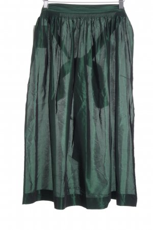Hammerschmid Traditional Apron forest green shimmery