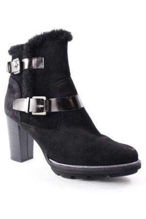 Hammerstein Botas de tobillo negro elegante
