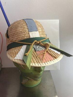 Hamptons Hat Strohhut Handmade Designer Unikat wow