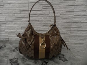 Gucci Handbag cognac-coloured-sand brown synthetic