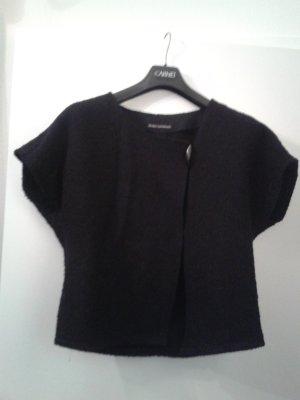 Gilet tricoté noir laine
