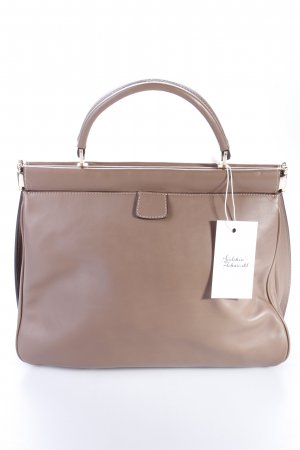 Handbag Leather Cashmere Taupe beige