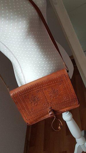 College Bag cognac-coloured