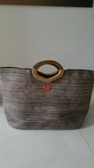 Sisley Shopper grijs-bruin