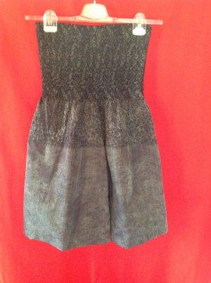 Off-The-Shoulder Dress sage green-grey