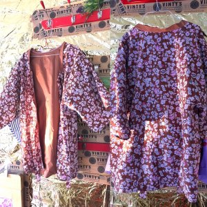 Handgemachte blumen Kimono Usize