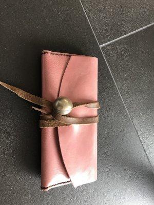 Handgemachte pouchette/Portmonee