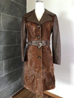 Leather Coat multicolored
