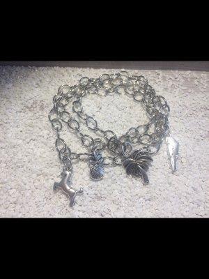 Bijoux de bras argenté