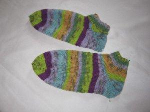 Puño multicolor lana de esquila