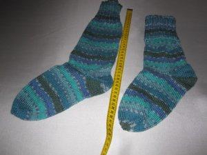 Handgestrickte Socken/Kniestrümpfe aus hochwertiger Sockenwolle Gr.38/39    Waschmaschinenfest   FESTPREIS!    NEU