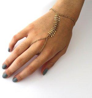 Handharness, Sklavenarmband von Etsy, vergoldet