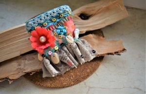 Handmade Armband,Stoff Ibiza Armband Boho Style
