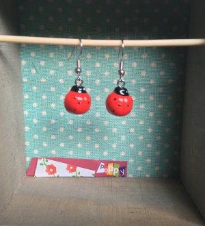 Handmade & ausgefallene Ohrringe Marienkäfer für den Sommer  ☀️