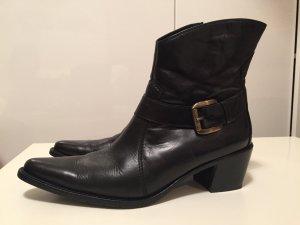 Handmade Boots von Paul Green, Biker-Stil, Größe 39 schwarz