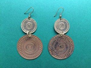 Handmade Engraved Earrings