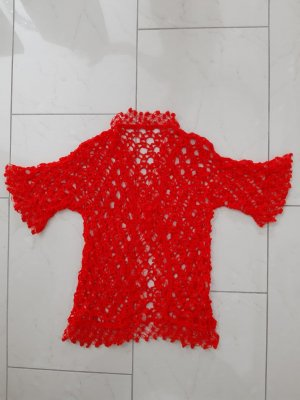 Knitted Vest red