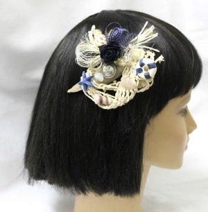 handmade Harajuku Haar Schmuck maritim mit echtem Treibholz