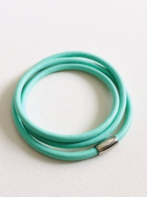 Leather Bracelet mint