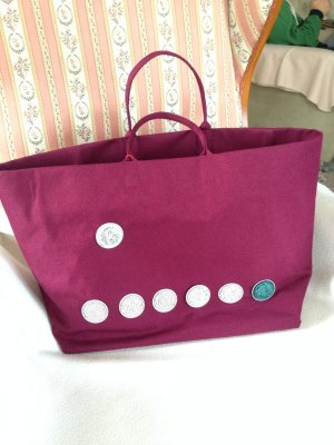 "handmade ""Nespresso Shopping"" Bag Gr.""L"""