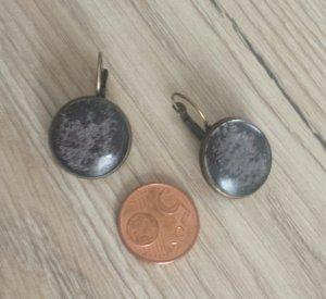 Handmade Ohrringe Marmoroptik
